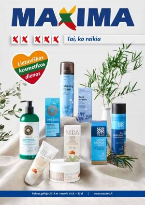 """MAXIMA - Leidinys XX XXX """"Lietuviškos kosmetikos dienos"""