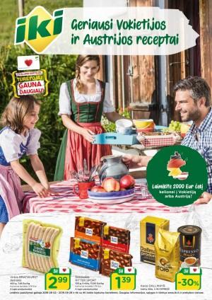 IKI - Geriausi Vokietijos ir Austrijos receptai (2019 09 02 - 2019 09 29)