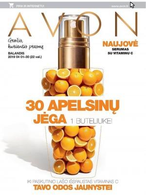 AVON - Katalogas (2019 04 01 - 2019 04 30)