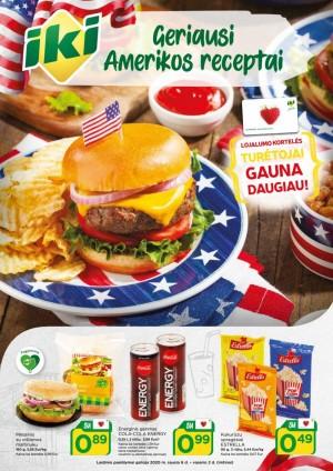 IKI - Geriausi Amerikos receptai (2020 01 06 - 2020 02 02)