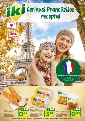 IKI - Geriausi Prancūzijos receptai (2019 11 04 - 2019 12 01)