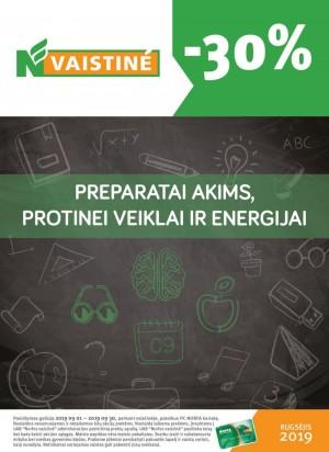 NVAISTINĖ (2019 09 01 - 2019 09 30)