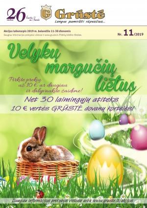 GRŪSTĖ - Leidinys Nr.11 (2019 04 11 - 2019 04 30)