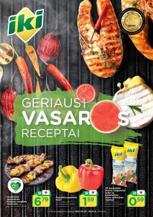 IKI - Geriausi vasaros receptai (2021 05 31 - 2021 08 01)