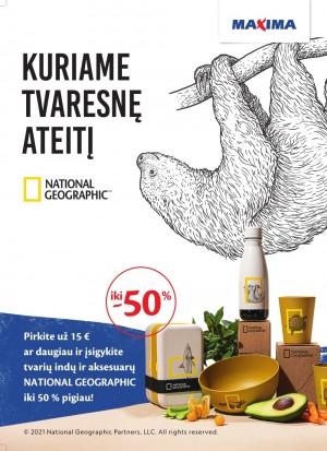 MAXIMA - National Geographic kolekcija (2021 03 22 - 2021 05 03)