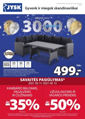 JYSK (2021 06 06 - 2021 06 21)
