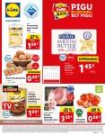 LIDL - Maisto prekių pasiūlymai (2021 07 26 - 2021 08 01)