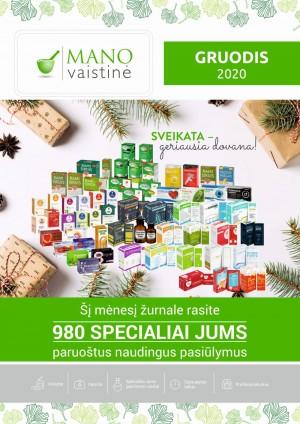 MANO VAISTINĖ (2020 12 01 - 2020 12 31)