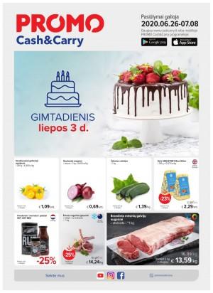 PROMO Cash&Carry (2020 06 26 - 2020 07 08)
